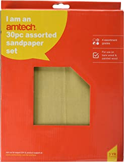 Set Fine Coarse 10 Sand Medium Sanding Blackspur Bb-gp271 Glass Paper Set