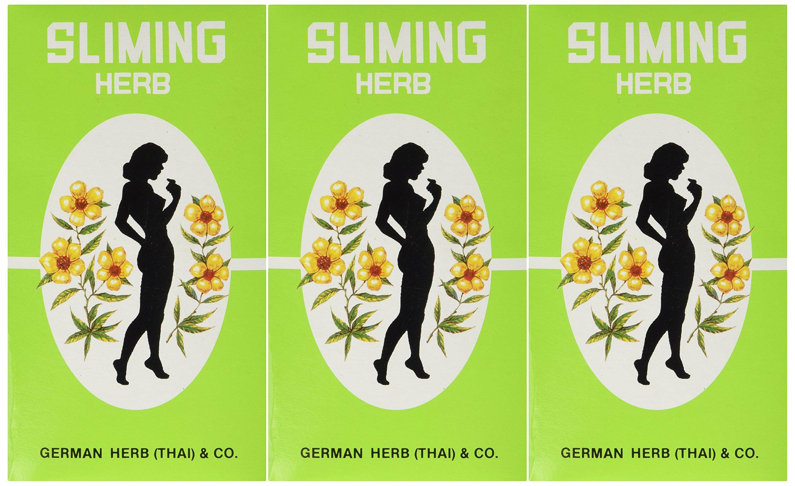 (3 PACKS)50 Bags Slimming German Herb Sliming Tea Lose Weight Burn Diet Slim Fit Fast Detox