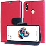 WPRIE VIVO V9 NEW Pink Flip cover (Ultra Compact with Stand, Credit Card Slots & Wallet)