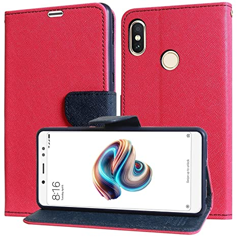 brand new f647f 7335b WPRIE VIVO V9 Pink Flip Cover (Ultra Compact with Stand, Credit Card Slots  & Wallet)