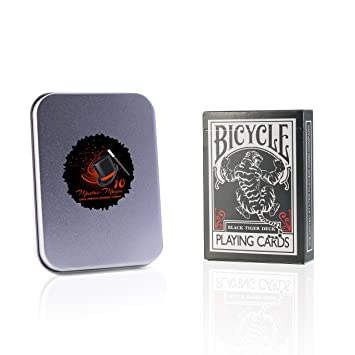 Madus-Magic - Baraja de cartas Bicycle Black Tiger de ...