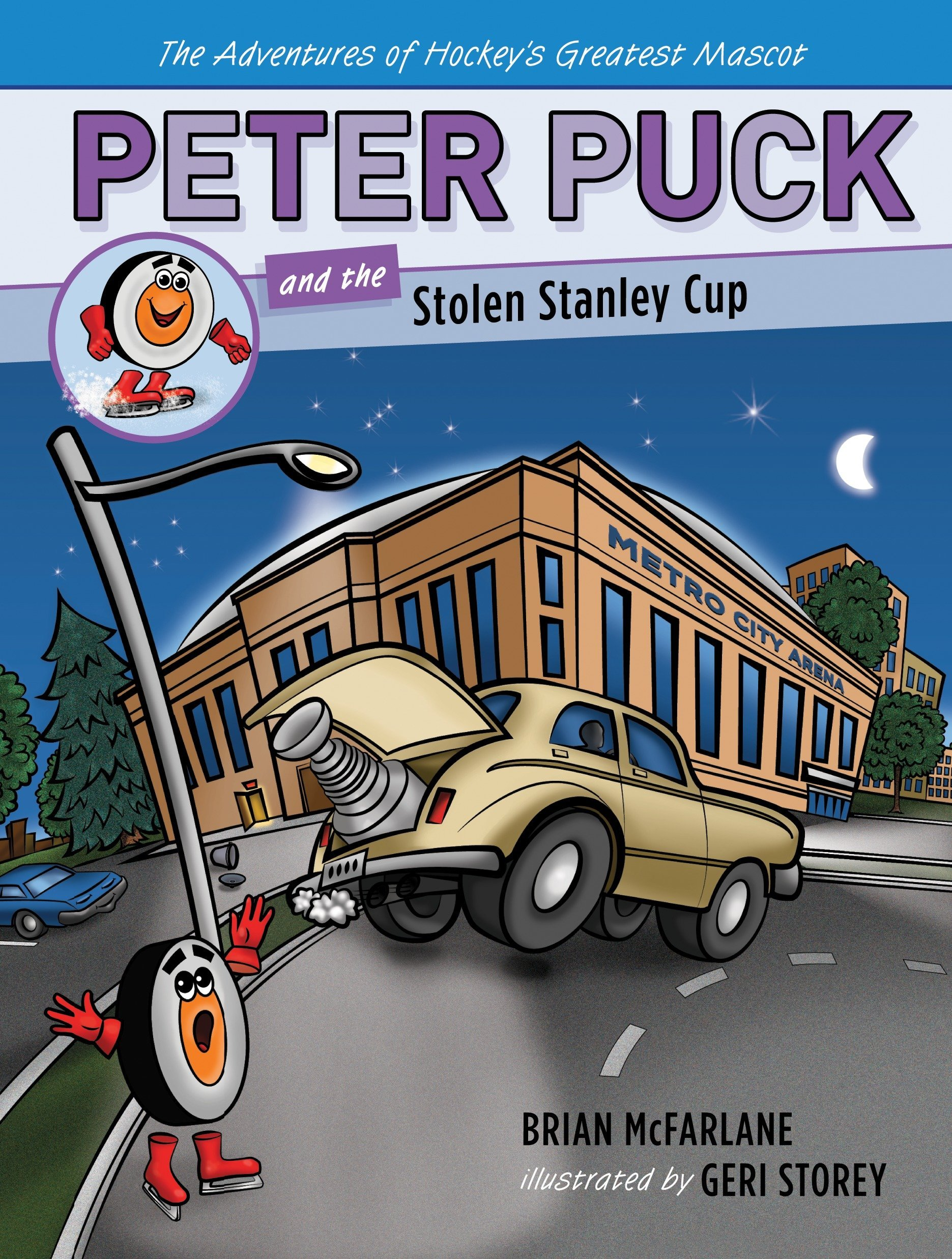 Peter Puck and the Stolen Stanley Cup (Adv. Hockey's Greatest Mascot) ebook