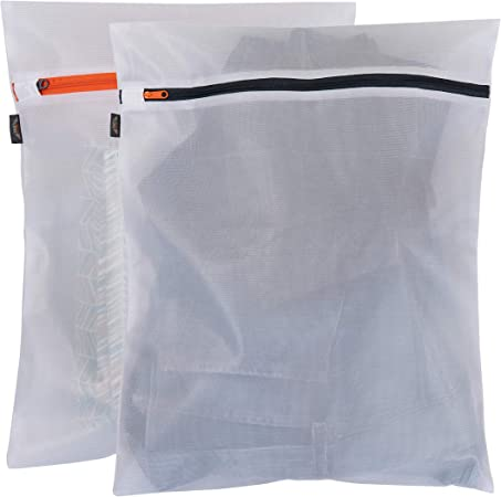 2X Reusable Laundry Storage Shopping Zipped Strong Woven Jumbo Travel Bag