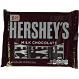 HERSHEY'S Milk Chocolate Bars (1.55-Ounce, 6-Count)