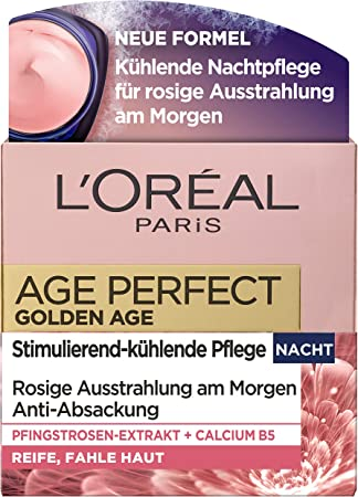 L'Oréal Paris Edad de oro perfecto Nachtpflege, Paquete 1er (1 x 0,05 l)