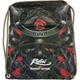 Gi Bag – Ronin Uniform Bag for Karate, Judo, BJJ, TKD & Martial Arts Uniforms - Blackout Samurai Ghost Gi Bag