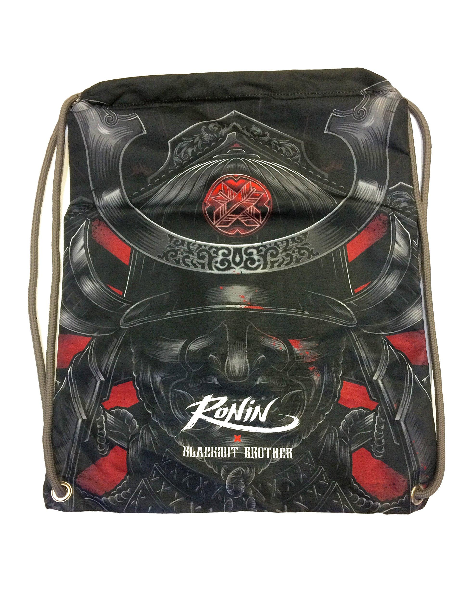 Gi Bag – Ronin Uniform Bag for Karate, Judo, BJJ, TKD & Martial Arts Uniforms - Blackout Samurai Ghost Gi Bag by Ronin Brand (Image #1)