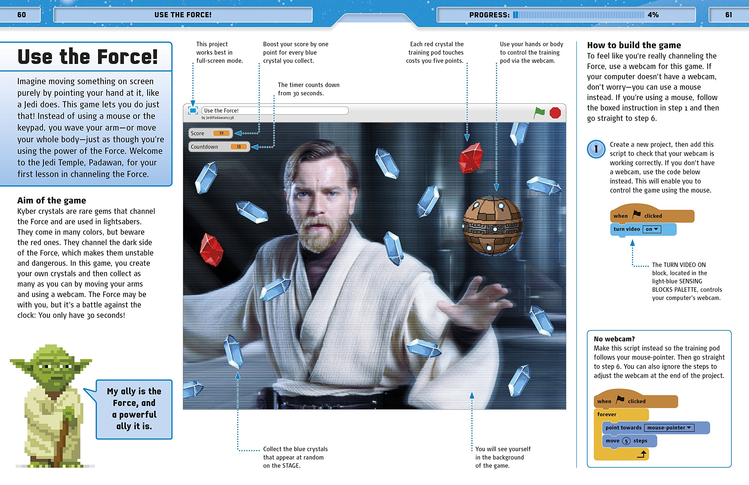 Star Wars Coding Projects: A Step-by-Step Visual Guide to Coding Your Own Animations, Games, Simulations an by DK Children (Image #8)