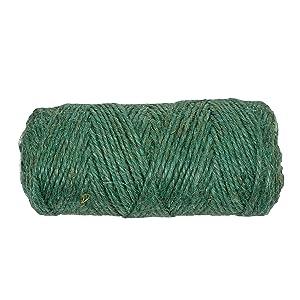 Gardener's Blue Ribbon T028B Soft Garden Twine, 200', Green