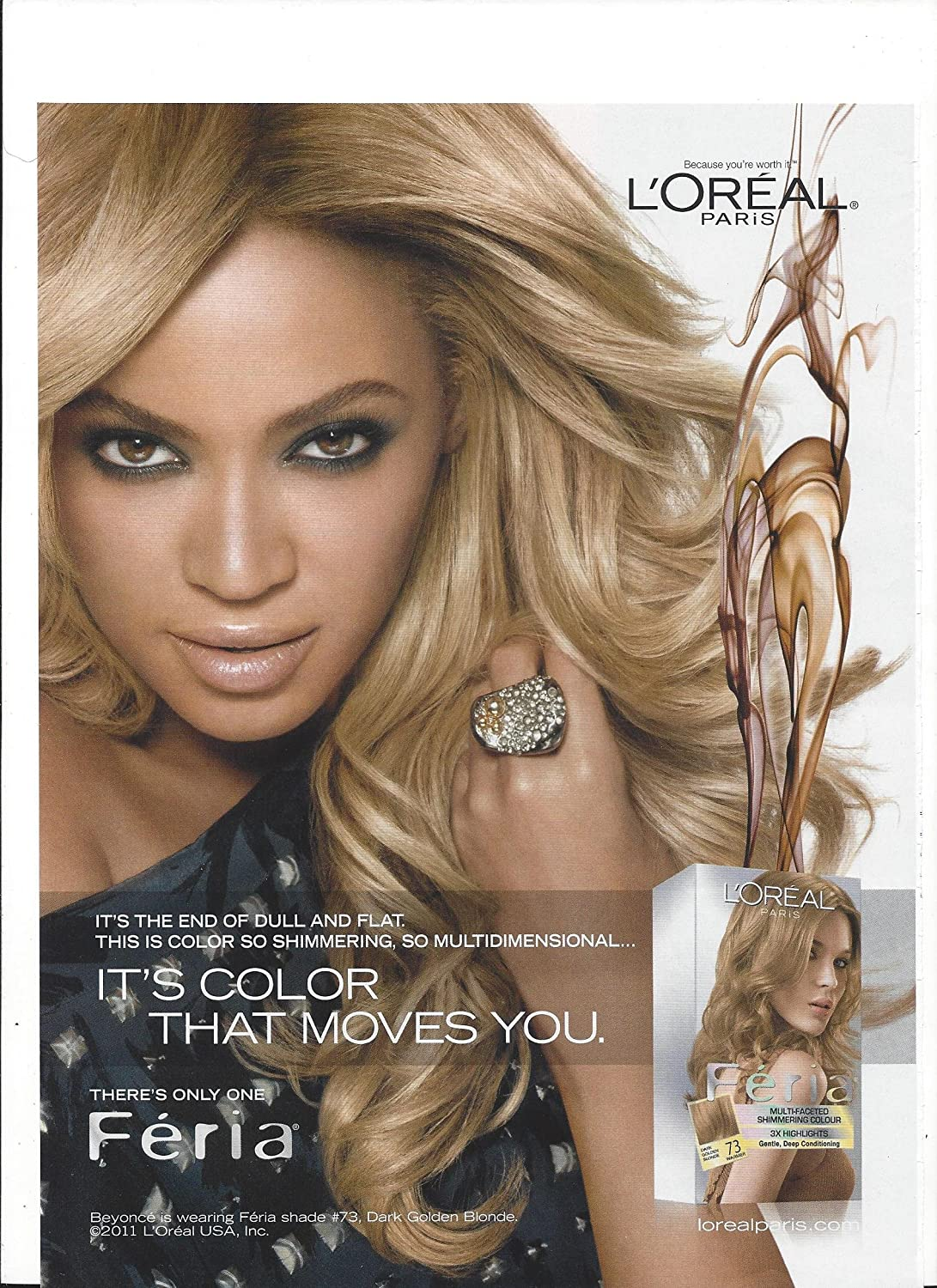 Amazon Magazine Paper Advertisement With Beyonce For 2012 L