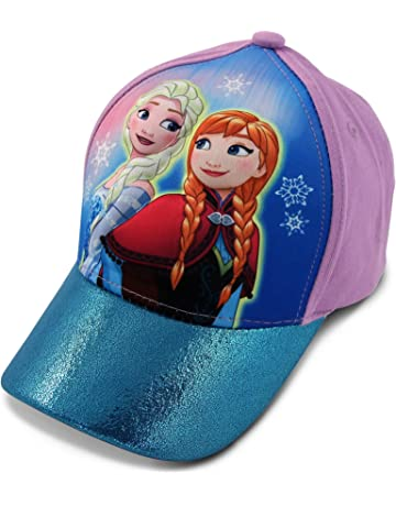 ff60b2cd6dd Disney Little Girls Frozen Anna and Elsa 3D Pop Baseball Cap