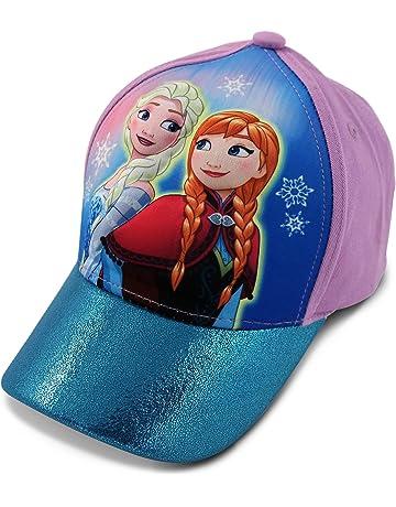 14a727c2 Disney Little Girls Frozen Anna and Elsa 3D Pop Baseball Cap, Age 4-7