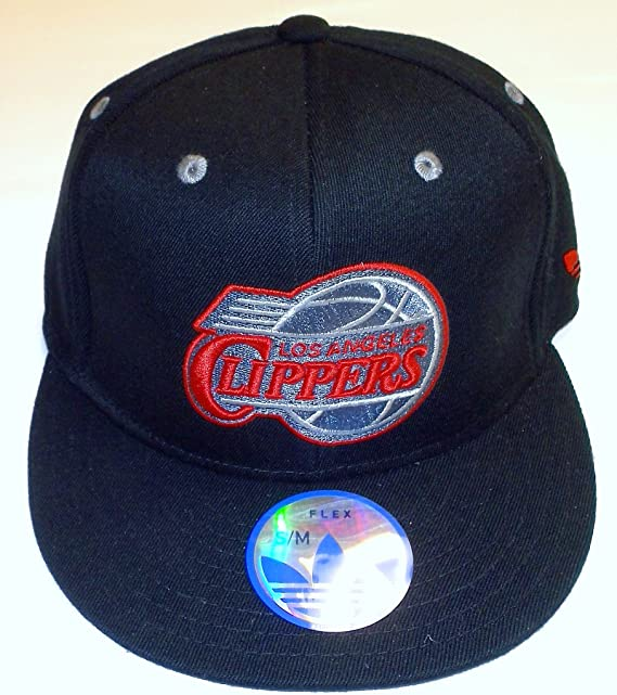 NBA Los Angeles Clippers - Gorra de visera plana de Adidas (talla ...
