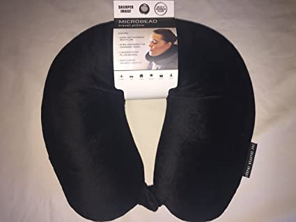 Sharper Image Microbead Travel Pillow Amazonca Home Kitchen