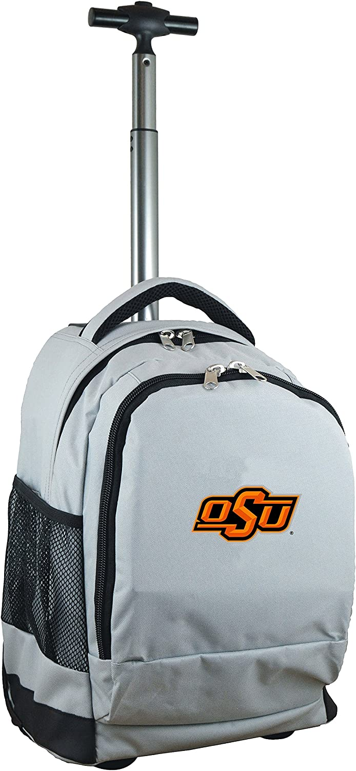 NCAA Wheeled Limited time trial Max 70% OFF price Backpack Grey 19-inches