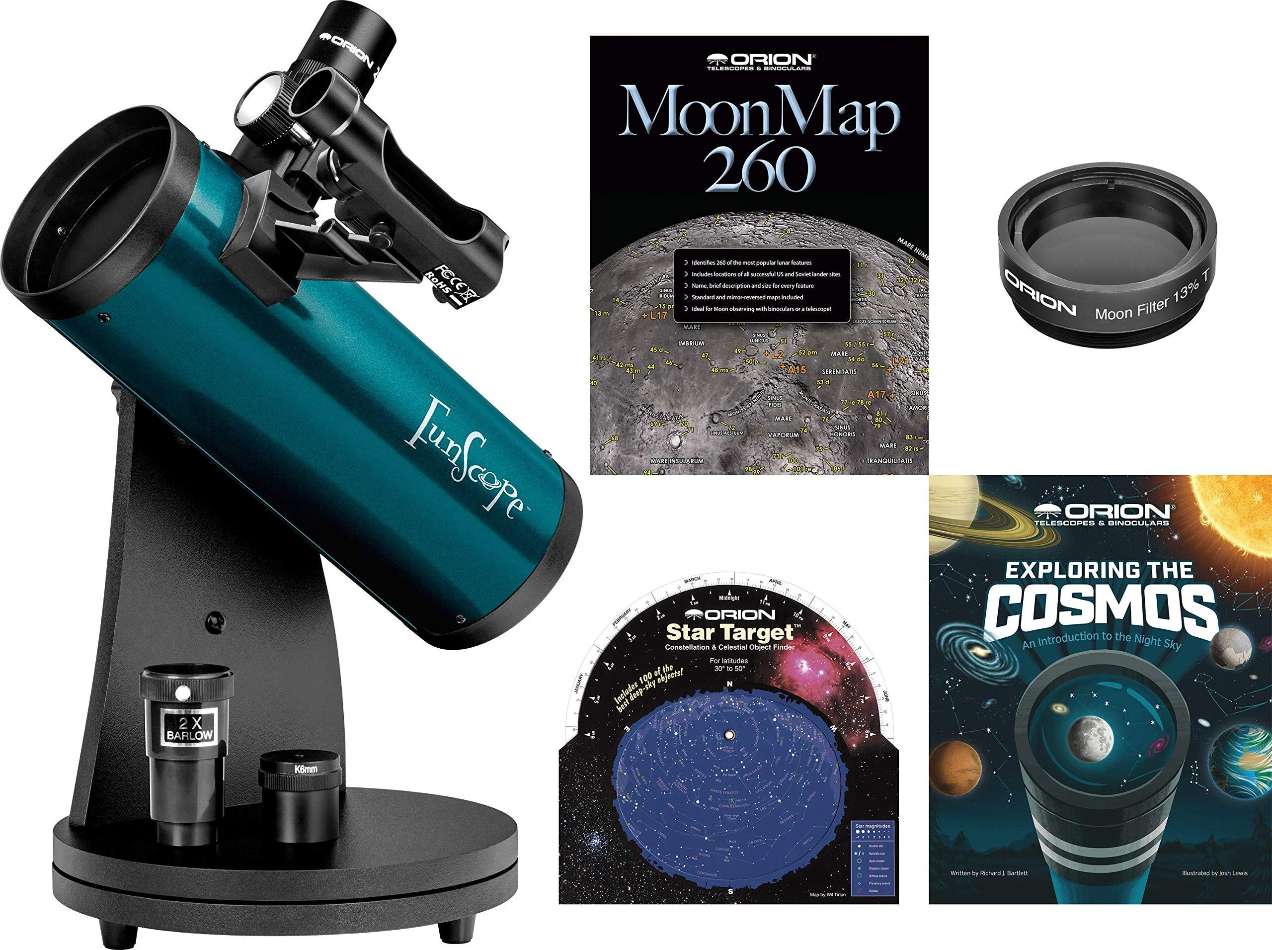 FunScope 76mm Reflector Telescope Kids Kit