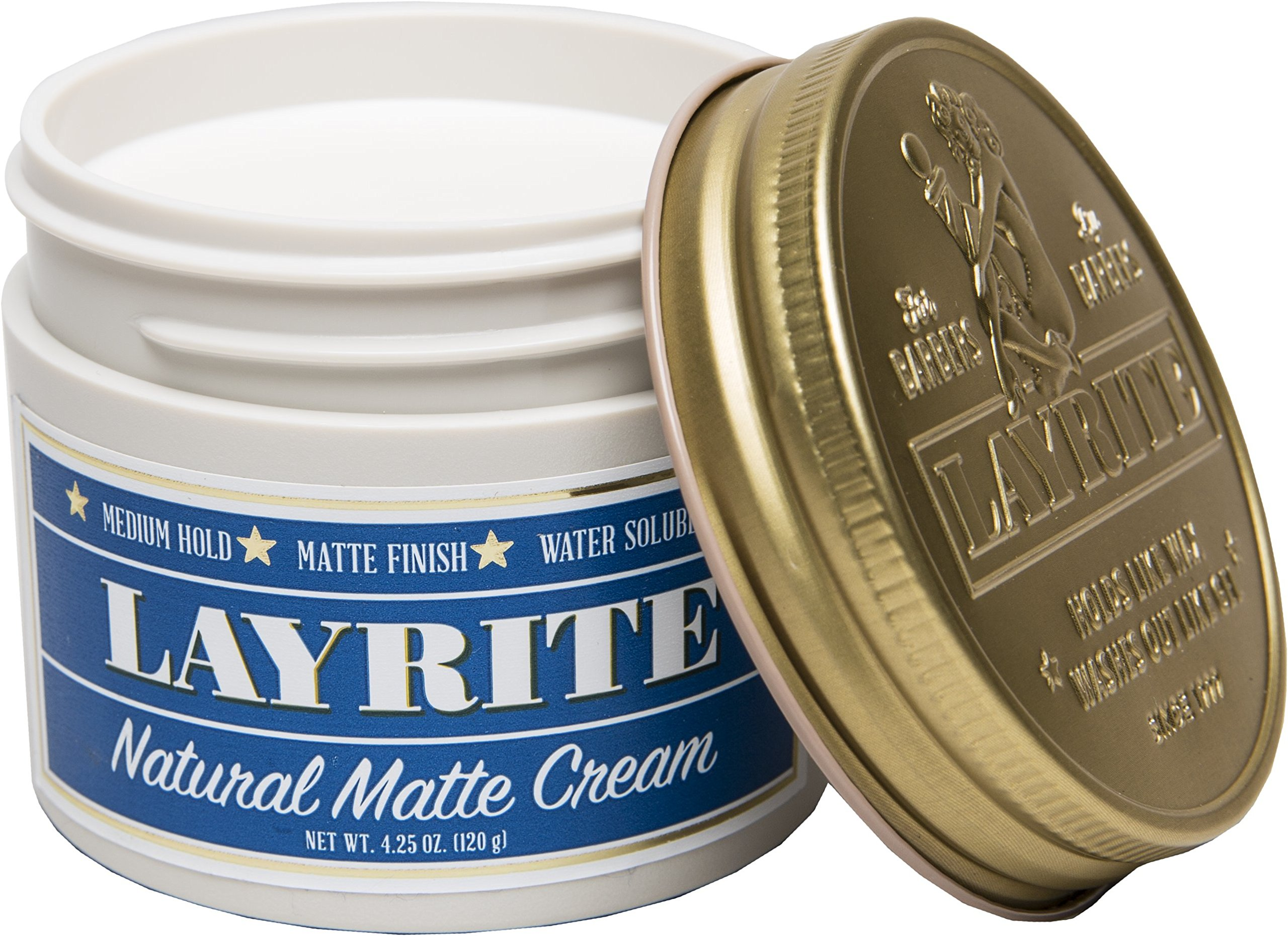 Layrite Natural Matte Cream Pomade, 4.25 oz. by Layrite (Image #2)