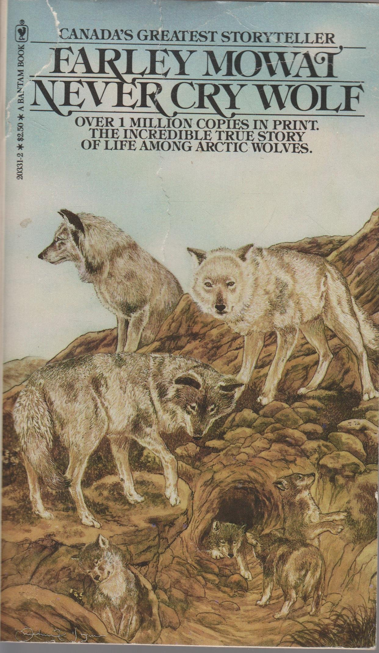 Never Cry Wolf Book