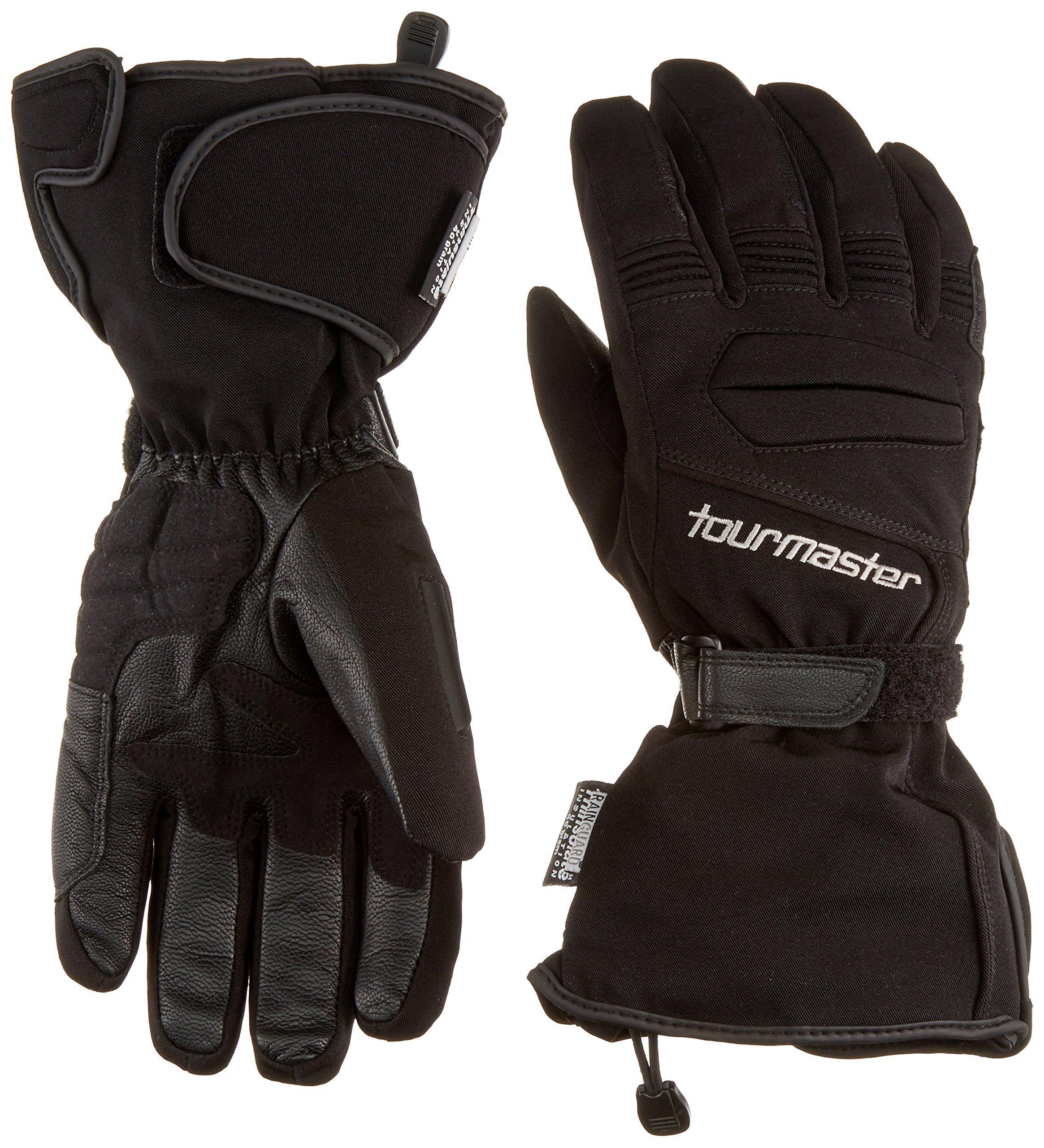 TourMaster Synergy 2.0 Electric Heated Textile Gloves (Medium, Black)