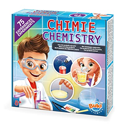 Buki Childrens 75 Science Experiment Chemistry Set: Toys & Games