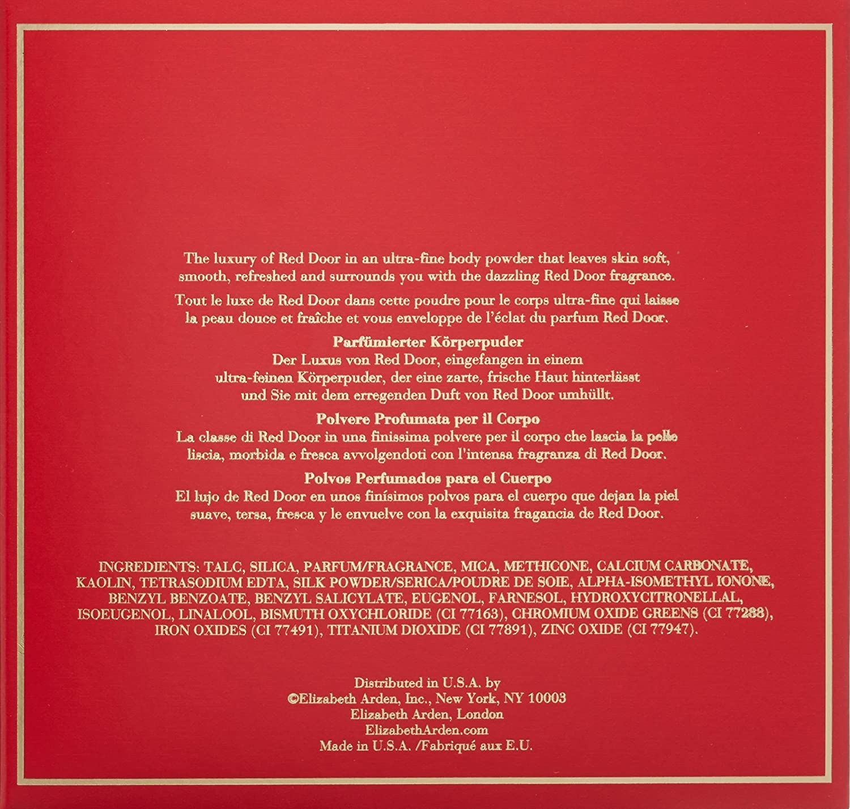 Amazon Elizabeth Arden Red Door Perfumed Body Powder 53 oz