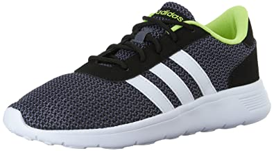 Adidas Neo Men's Lite Racer Lifestyle Runner Sneaker,Black/White,8 ...