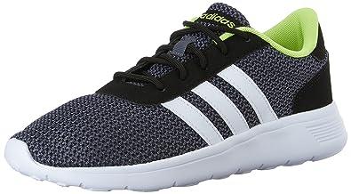 adidas Neo Men\u0027s Lite Racer Lifestyle Runner Sneaker,Black/White,8 ...