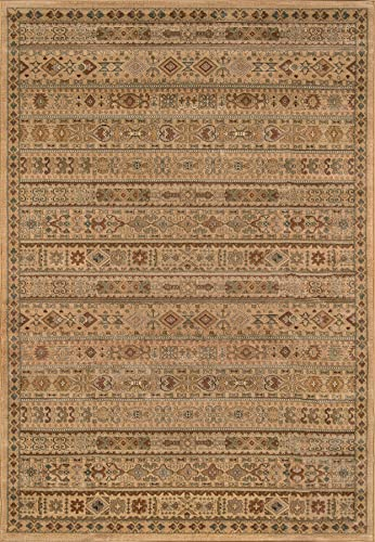 Momeni Rugs Belmont Collection Area Rug, 2 x 3 , Ivory