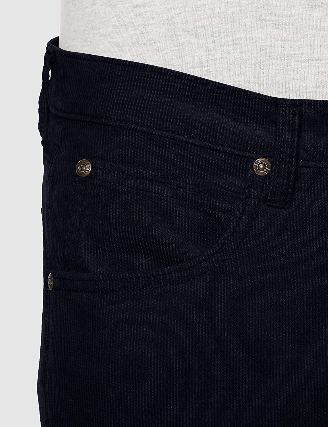 Lee heren broek LUKE Corduroy Bleu (Dark Marine 21)