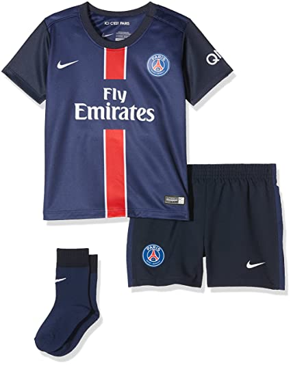 f49c757480f3e Nike PSG Home Infants Kit - Traje Completo Paris Saint Germain 2015 2016  para niño