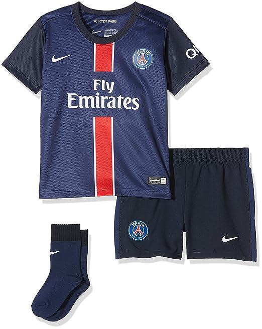 Nike PSG Home Infants Kit - Conjunto Deportivo para niños, Color Azul Marino/Blanco: Amazon.es: Zapatos y complementos