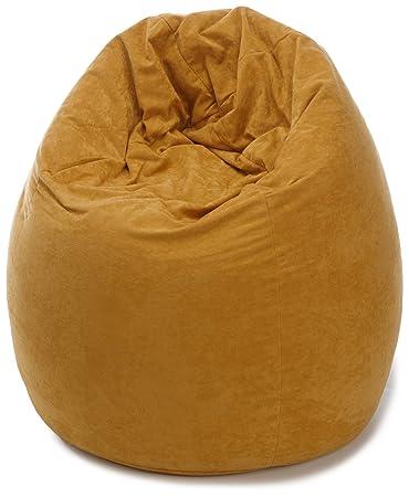 Kinzler K 1100105 Sitzsack Amara 110 Cm Curry Amazonde Küche