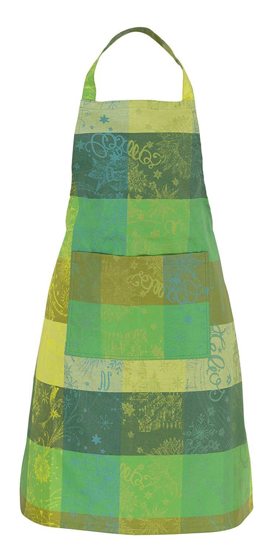 Beschichtete Schürze Mille Couleurs Lime 75 x 85 cm beschichtet