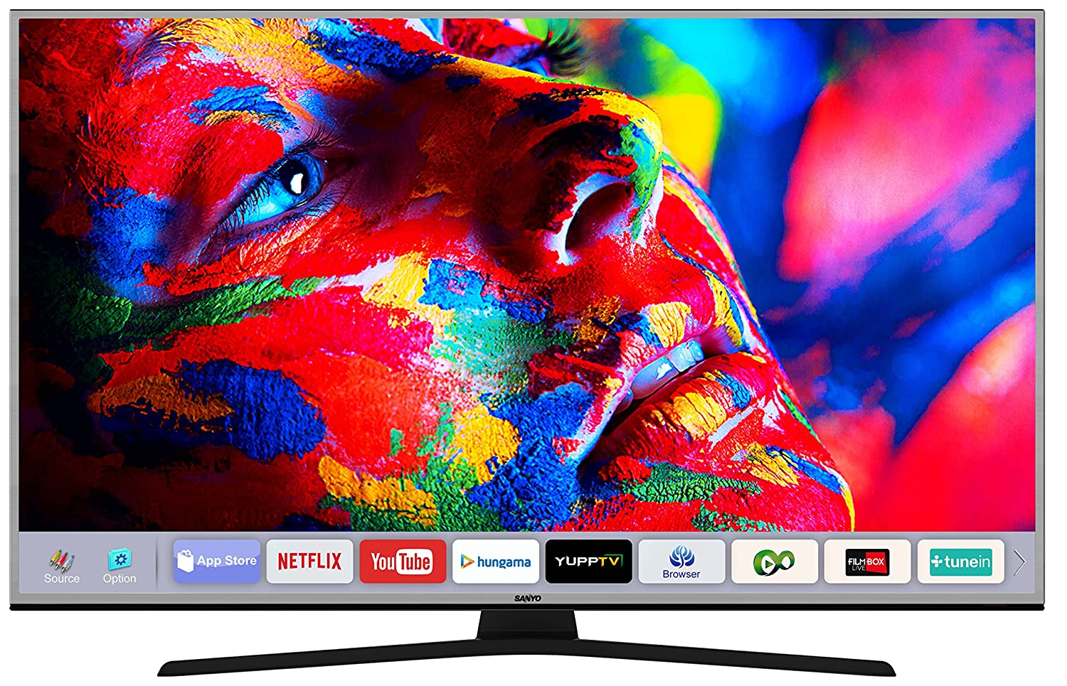 Best 50 inch 4k TVs in India under 50,000 - Sanyo XT-49S8200U 4K UHD LED Smart TV