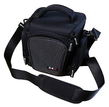 Gem - Funda para cámara de carga superior para Sony Cyber-Shot DSC-H300, DSC-H400, DSC-HX400 y DSC-HX400V y accesorios limitados