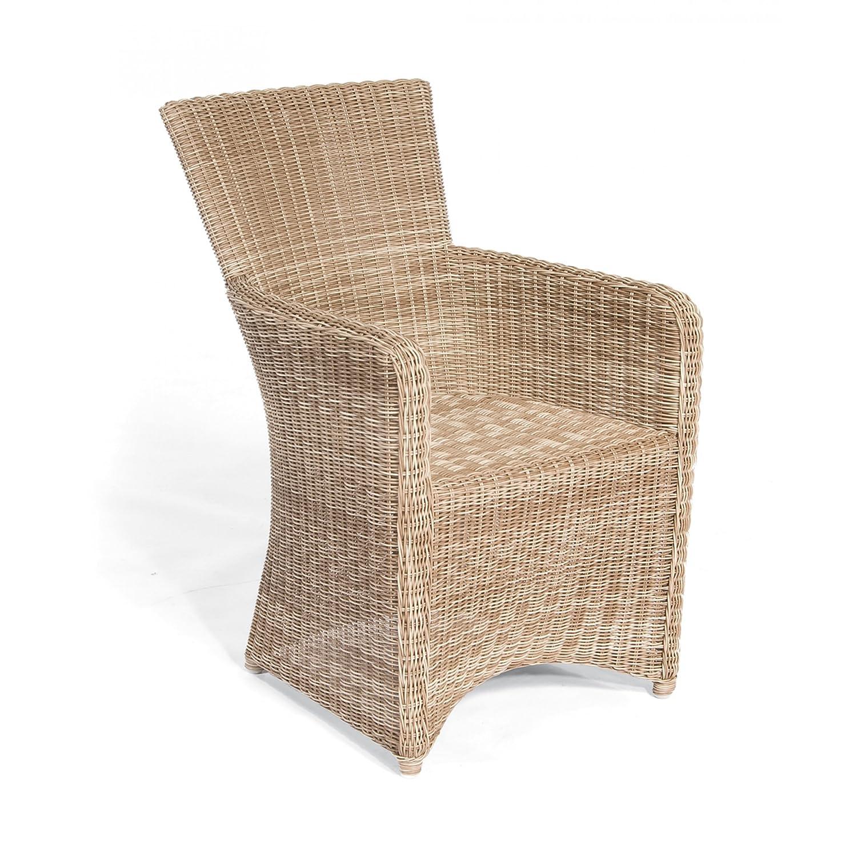 Sonnenpartner Gartenstuhl / Sessel Modell Venus Farbe antik-weiß 80061931