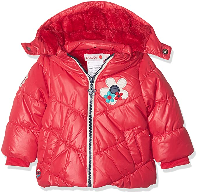 boboli 224165, Abrigo para Bebés, Rojo 68 (Tamaño del Fabricante:68cm)