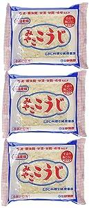 MIYAKO KOJI 200g/ Malted rice for making Shio Koji, Miso, Sweet Sake, Pickles (Pack of 3)