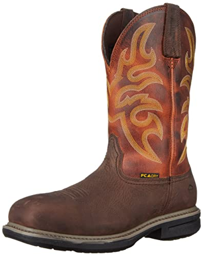 b617103db87 Wolverine Men's Roscoe 10 Inch WPF DS5 Comp Toe Work Boot