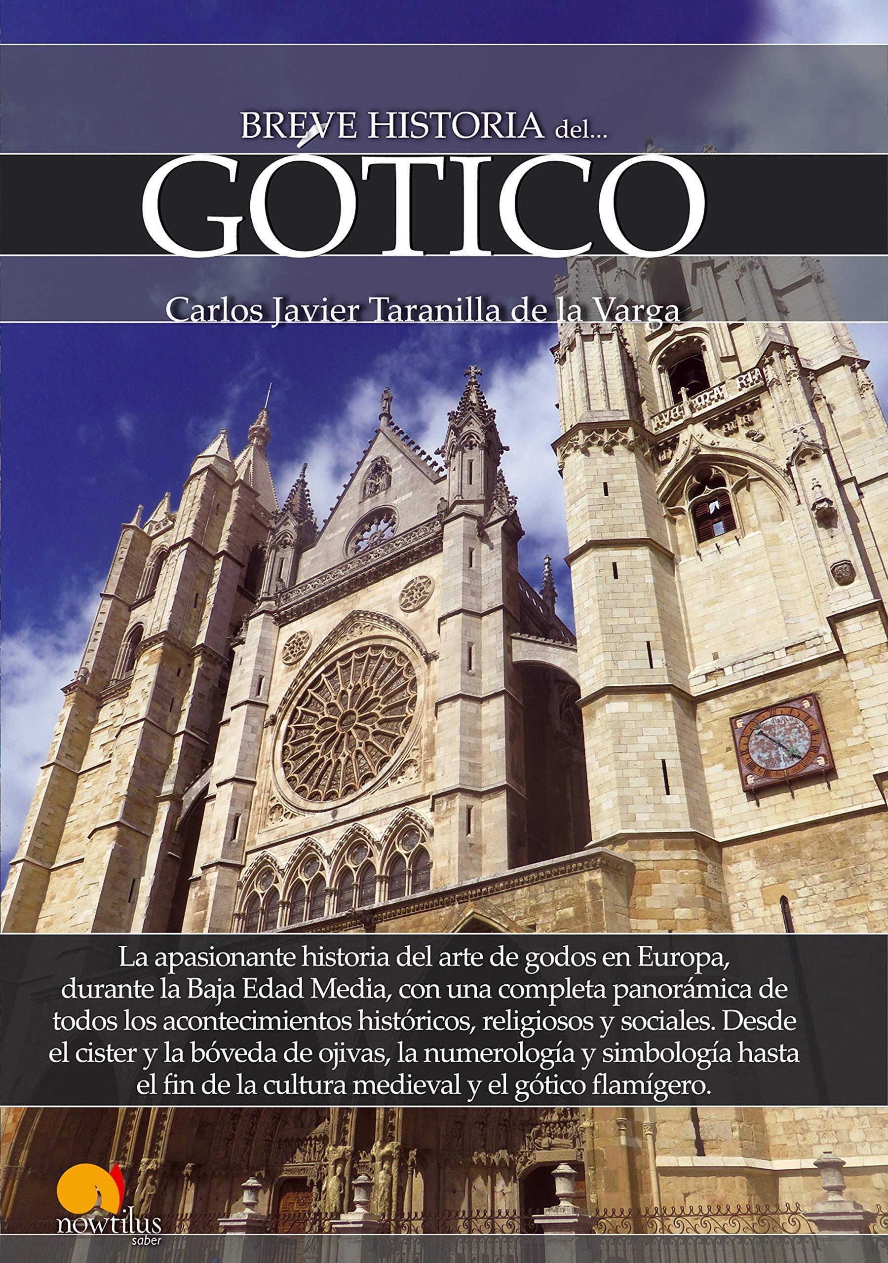 Breve historia del Gótico (Versión sin solapas): Amazon.es: Taranilla de la Varga, Carlos Javier: Libros