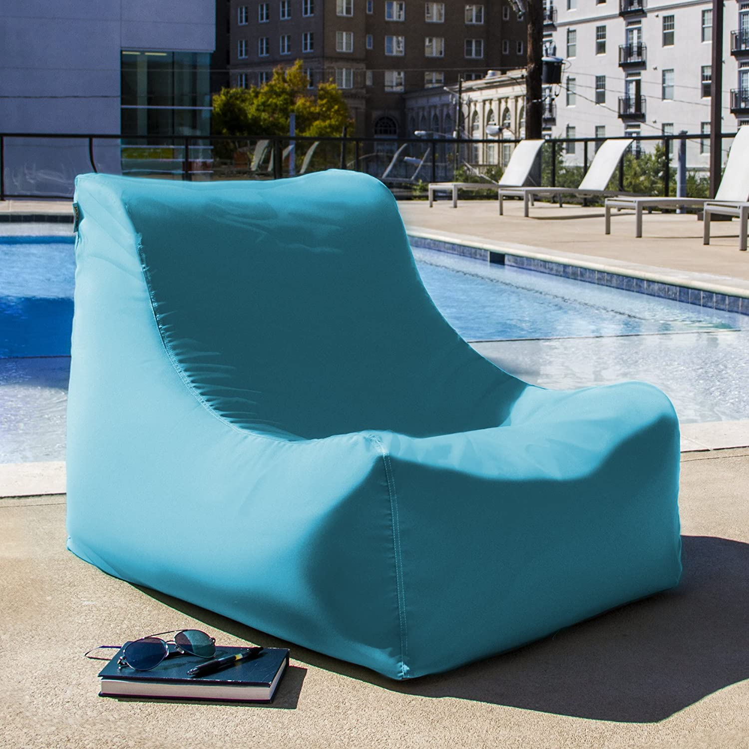 Amazon Jaxx Ponce Outdoor Bean Bag Lounge Chair & Leon