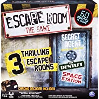 Spin Master Games Spin Master Games - Escape Room The Game with 3 Thrilling Escape Rooms to Play, for Ages 16 and Up
