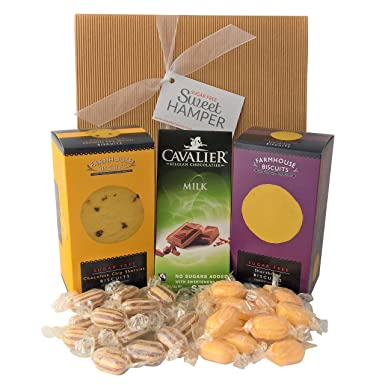 Sugar free hamper box sweets biscuits chocolate suitable for sugar free hamper box sweets biscuits chocolate suitable for diabetics perfect negle Image collections