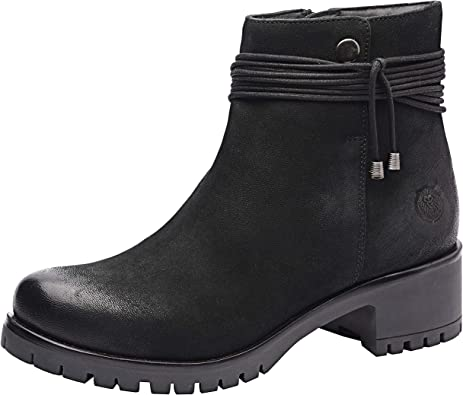 Womens Genuine Leather Booties