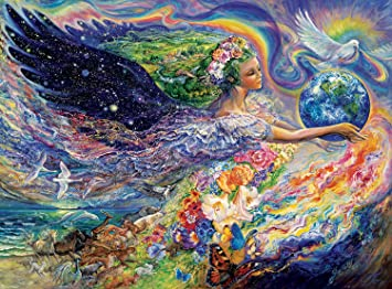 Buy buffalo games josephine wall earth angel 1000 piece jigsaw buffalo games josephine wall earth angel 1000 piece jigsaw puzzle by buffalo games voltagebd