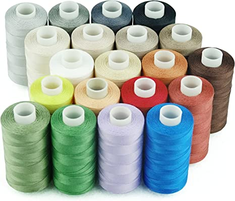 Brand New Quality 1 x Dark Teal Blue 200m Cotton Sewing Thread Hand//Machine