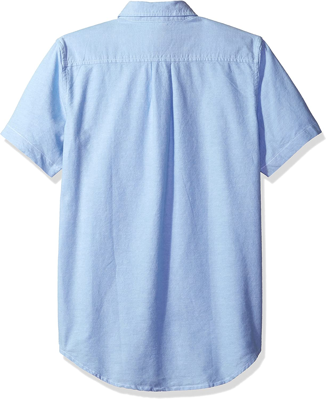 The Childrens Place Boys His Short Sleeve Uniform Oxford Shirt School Uniform Button Down Shirt