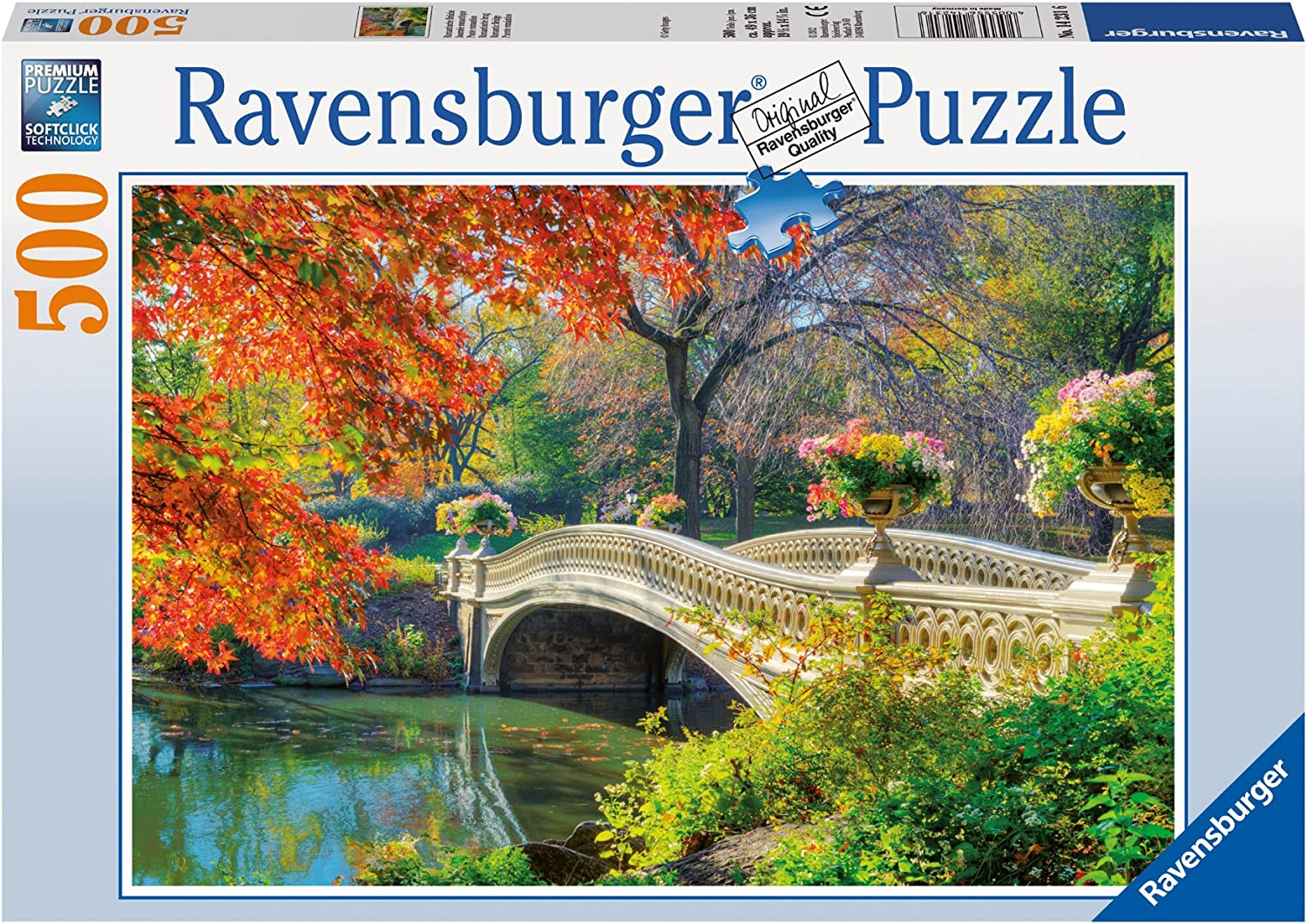 Moonideal Jigsaw Puzzles 1000 Pieces for Adults//Kids Garden