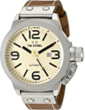 TW Steel Men's CS16 Analog Display Automated Brown Watch