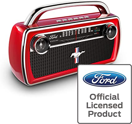 ION Audio Mustang Stereo - Altavoz Boombox Estéreo Inalámbrico ...